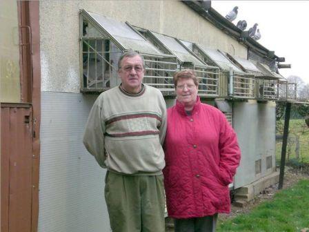 Le vice président du club alaire et son épouse